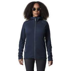 Houdini Wooler Houdi Jacket Damen blue illu/blue light